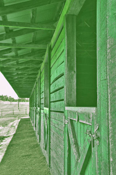 Photograph - Glenwood Park Stables by JAMART Photography