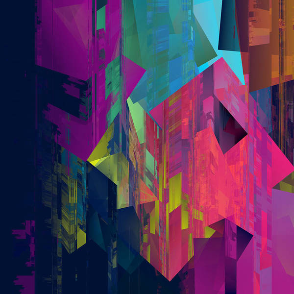 Wall Art - Digital Art - Glitch 6 by Chris Butler