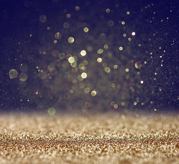 Wall Art - Photograph - Glitter Vintage Lights Background by Tomertu