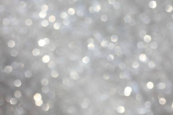 Light Photograph - Glittery Background by Merrymoonmary