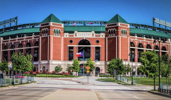Globe Life Park In Arlington Art Print