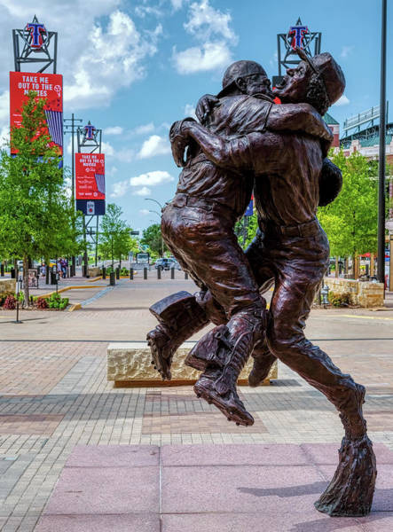 Photograph - Globe Life Park Texas Rangers July 2019 by Rospotte Photography