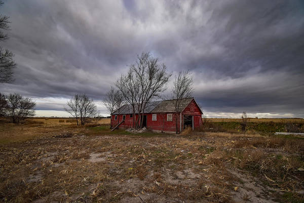 Gloomy Wall Art - Photograph - Gloomy Day In The Country by Christopher Thomas