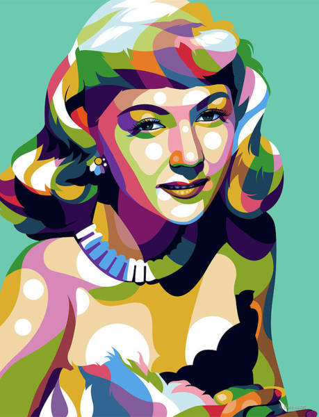 Pop Star Digital Art - Gloria Graham by Stars-on- Art