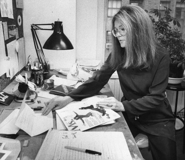 Gloria Photograph - Gloria Steinem, Feminist Leader And by New York Daily News Archive