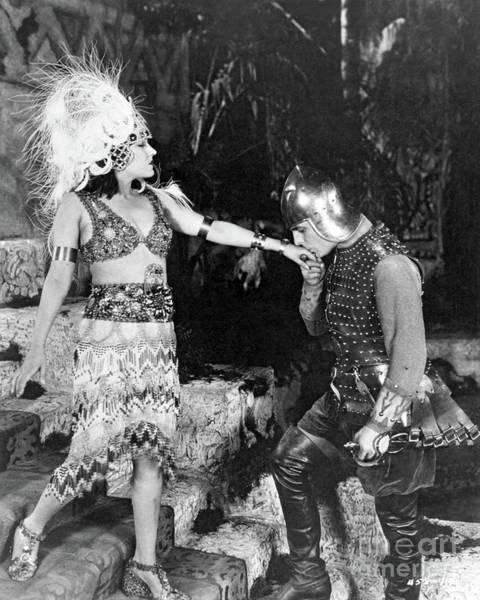 Gloria Swanson Photograph - Gloria Swanson Antonio Moreno My American Wife 1922 by Sad Hill - Bizarre Los Angeles Archive