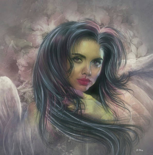 Admiration Mixed Media - Glorious Angel by G Berry