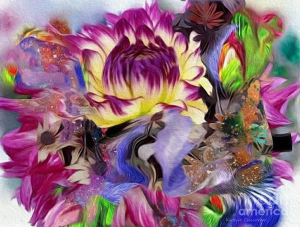 Digital Art - Glorious Color by Kathie Chicoine