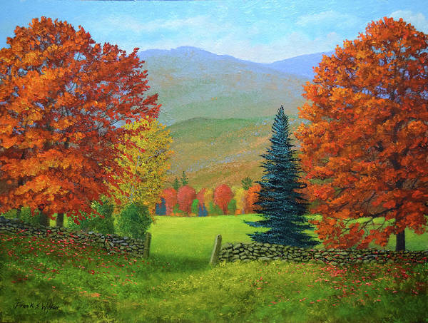 Painting - Glorious Days Of Autumn by Frank Wilson