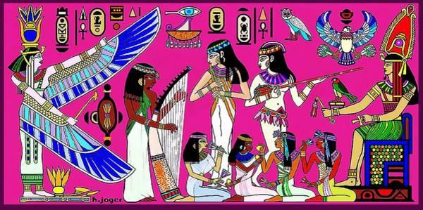 Wall Art - Digital Art - Glorious  Egypt by Hartmut Jager