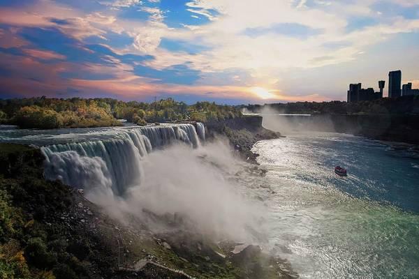 Photograph - Glorious Skies At Niagara Falls by Lynn Bauer