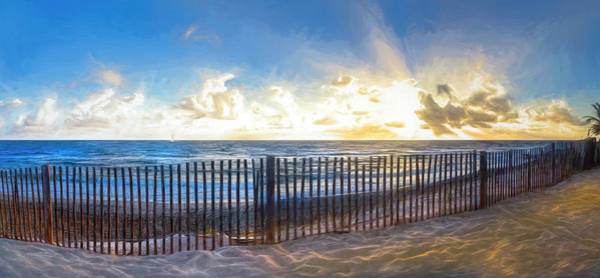 Photograph - Glorious Sunrise Painting by Debra and Dave Vanderlaan