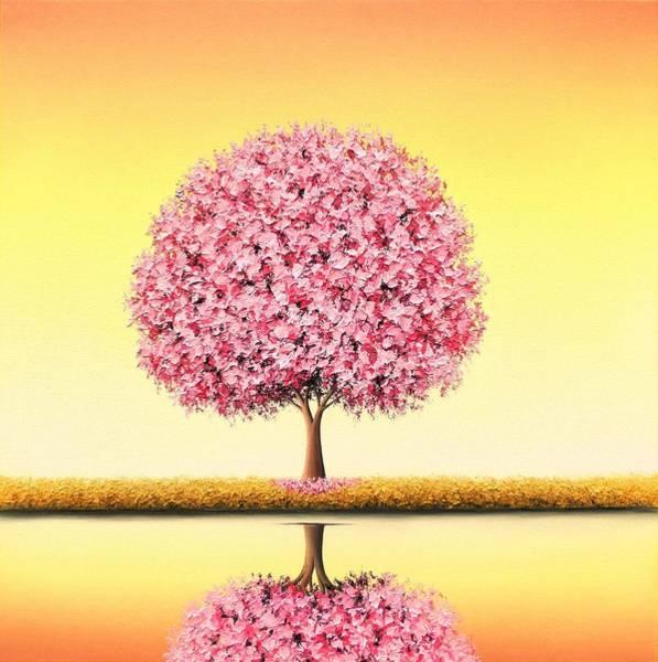 Wall Art - Painting - Glory Seated by Rachel Bingaman