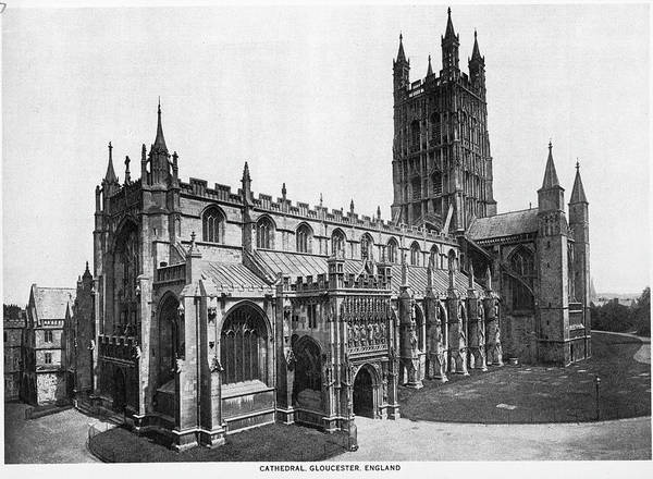 Photograph - Gloucester Cathedral by Archive Photos