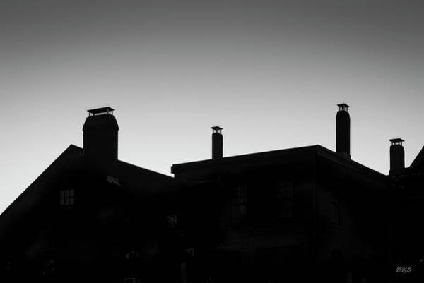 Photograph - Gloucester Rooflines  Bw by David Gordon