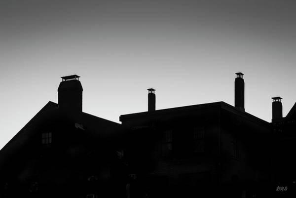 Photograph - Gloucester Rooflines  Bw by David Gordon
