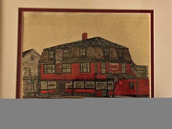 Wall Art - Mixed Media - Gloucester Tavern by Paul Meinerth