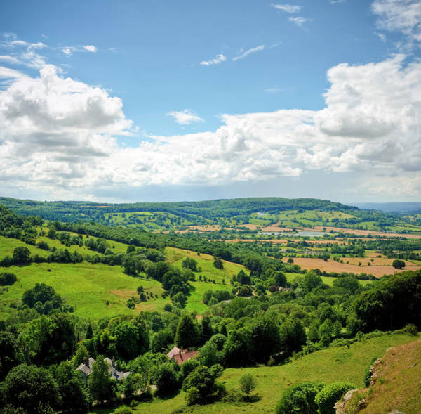 Viewpoint Photograph - Gloucestershire Countryside View In by Fotomonkee