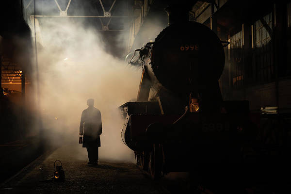Photograph - Glow Of The Furnace by Framing Places