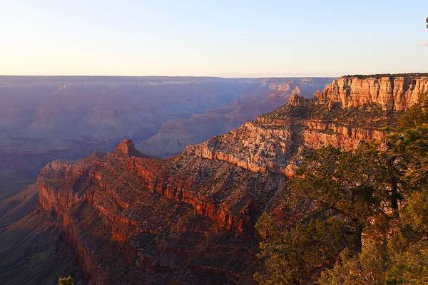 Photograph - Glow Over South Rim by Sagittarius Viking