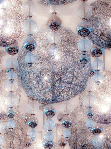Photograph - Glowing Crystal Lights by Julie Palencia