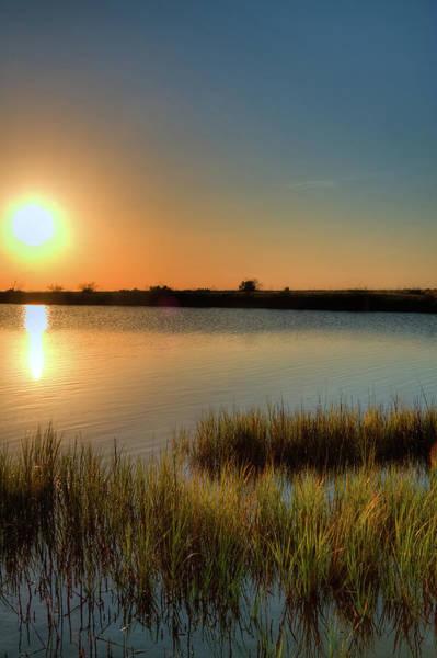 Texas Photograph - Glowing Orb - Galveston Island State by Daniel Thibodeaux - Houston, Texas Usa