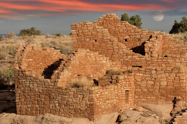 Wall Art - Photograph - Glowing Ruins by Kathleen Bishop
