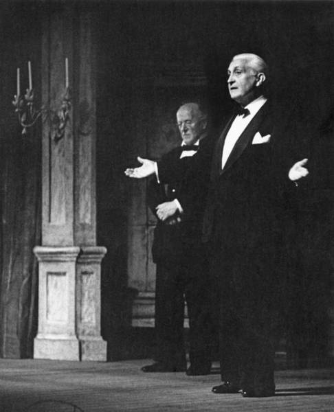 Photograph - Glyndebourne Greats by Erich Auerbach