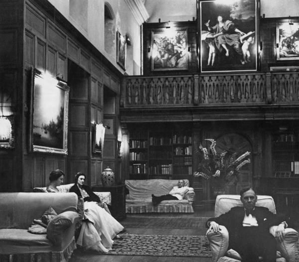 Armchair Photograph - Glyndebourne Organ Room by Erich Auerbach
