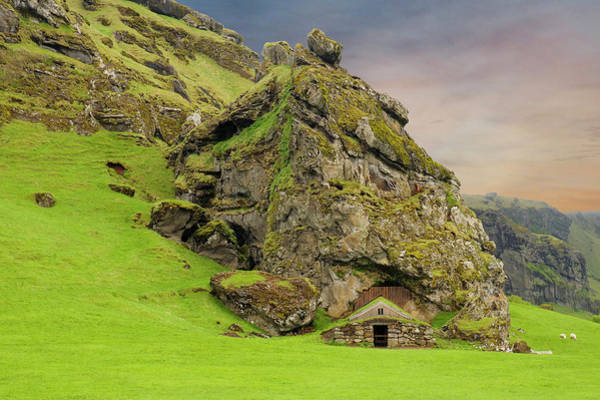 Photograph - Gnome House Southern Iceland by Marla Craven