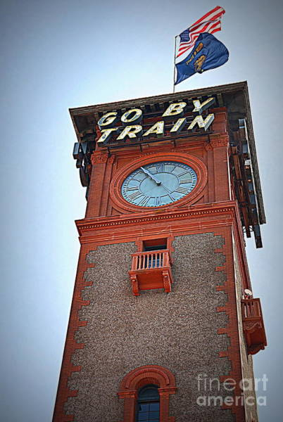 Wall Art - Photograph - Go By Train by Tru Waters