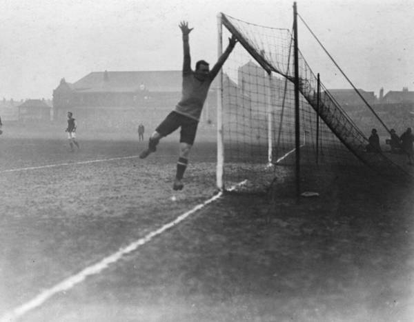 Deadline Wall Art - Photograph - Goalkeeper Jumps by Topical Press Agency
