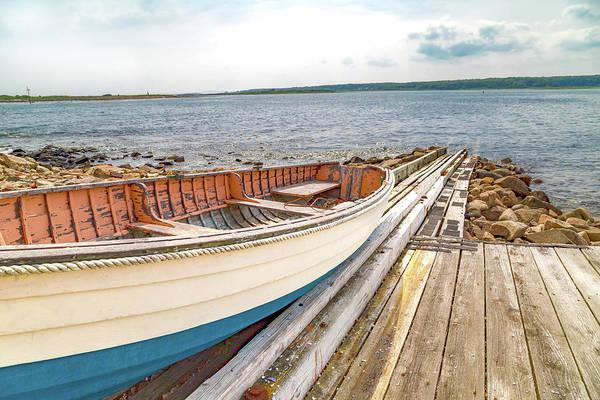 Rock Island Line Photograph - Goat Island Boat Ramp by Betsy Knapp