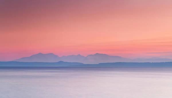 Ayrshire Photograph - Goatfell - Isle Of Arran by Bluefinart