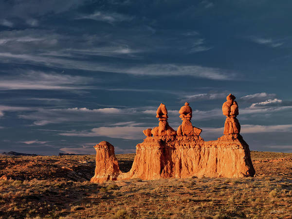 Goblin Valley State Park Photograph - Goblin Valley 1 by Leland D Howard