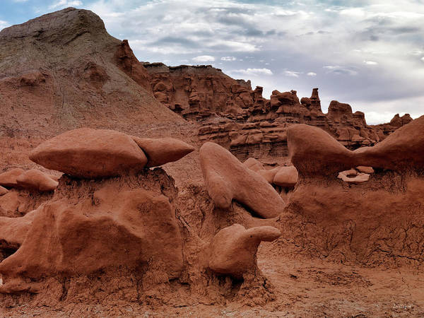 Goblin Photograph - Goblin Valley 12 by Leland D Howard