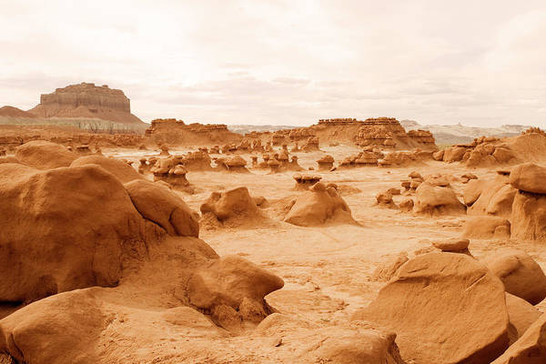 Goblin Photograph - Goblin Valley, Ut by Jhorrocks