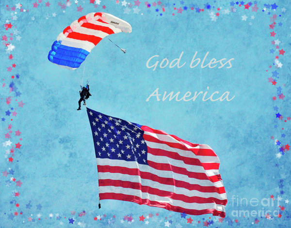 Wall Art - Photograph - God Bless America by Debby Pueschel