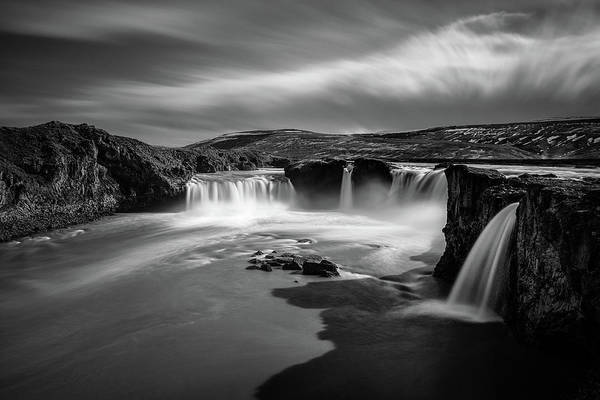 Shutter Photograph - Godafoss by Dave Bowman