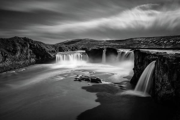 Shutters Photograph - Godafoss by Dave Bowman