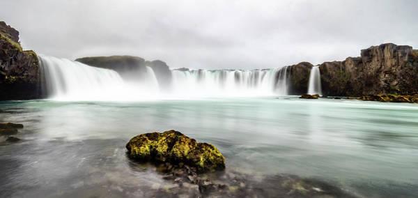 Photograph - Godafoss-iceland by Usha Peddamatham
