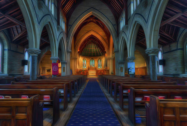 Digital Art - Gods Church by Ian Mitchell