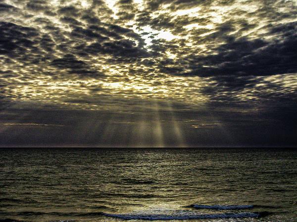 Photograph - Gods Sun Rise by Louis Dallara
