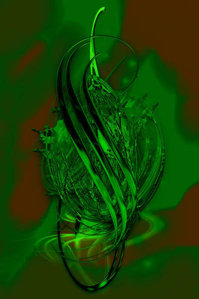 Mixed Media - Going Green by Marvin Blaine