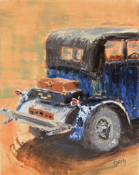 Collector Car Painting - Going Places by Naomi Tiry Salgado