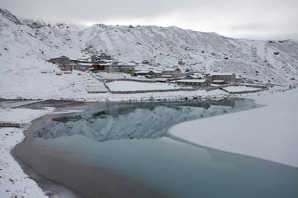 Gokyo Photograph - Gokyo Lake, Everest Region by Glenn Coombridge