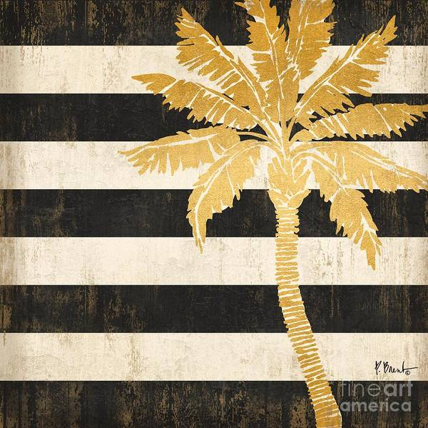 Wall Art - Painting - Gold Coast Palm by Paul Brent