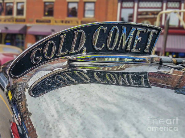 Wall Art - Photograph - Gold Comet by Tony Baca