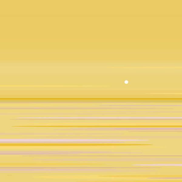 Wall Art - Digital Art - Gold Horizon by Val Arie