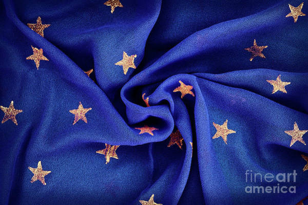 Photograph - Gold Stars Blue by Tim Gainey